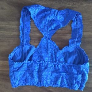 701288a08d Free People Intimates   Sleepwear - Free People Gorgeous Royal Blue Lace  Bralette